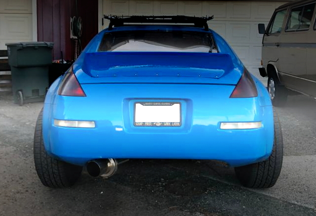 BACK TAIL LAMP FROM LIFTED OF 350Z