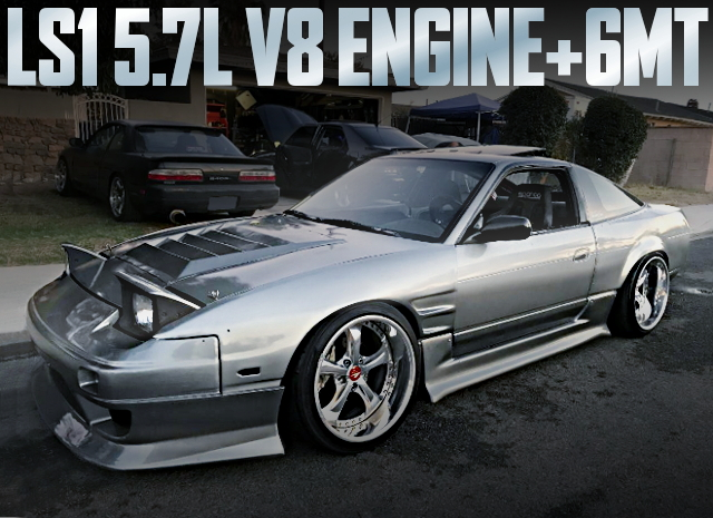 LS1 V8 ENGINE TYPE-S13 240SX
