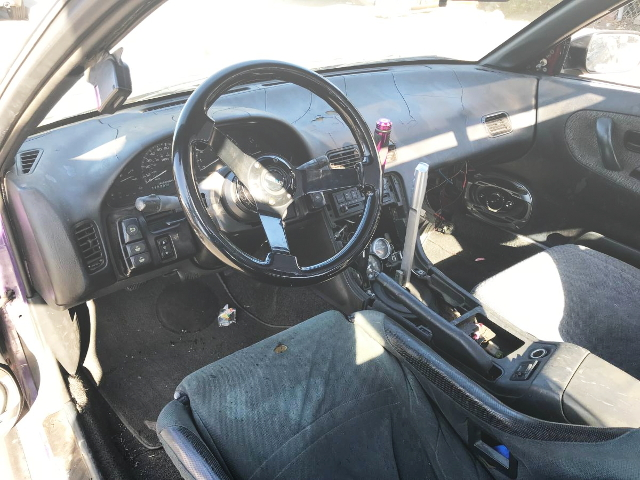 INTERIOR LEFT HAND DRIVE S13 240SX