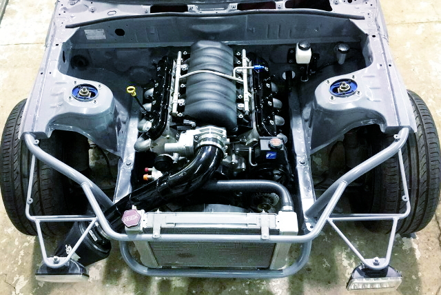 LS3 HEAD AND LS2 BLOCK V8 ENGINE