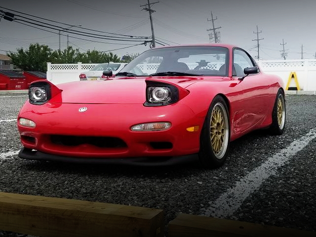 FRONT FACE FD3S RX-7