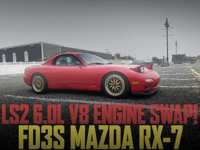 LS2 6000cc V8 ENGINE FD3S RX-7