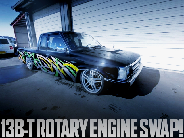 13B ROTARY ENGINE SWAP B2200