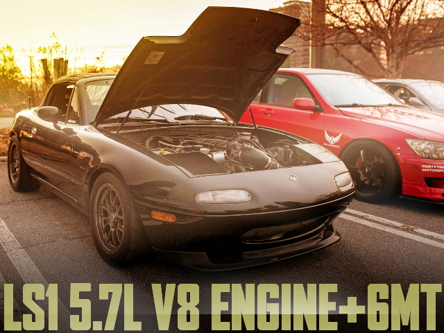 LS1 V8 ENGINE MIATA MX5