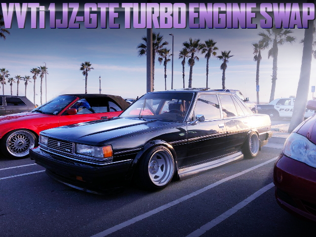 X70 CRESSIDA 1JZ VVTi TURBO ENGINE