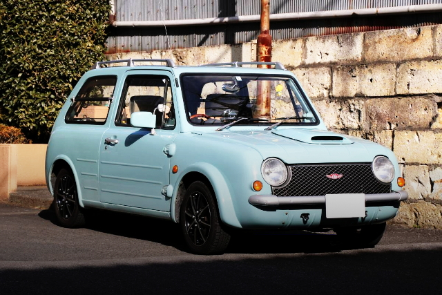 FRONT EXTERIOR PK10 NISSAN PAO