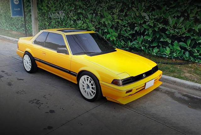 FRONT EXTERIOR 2nd Gen PRELUDE YELLOW