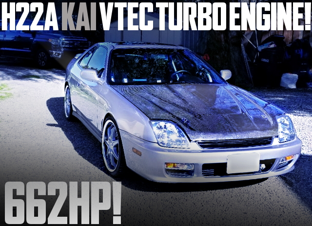 H22A VTEC TURBOCHARGED PRELUDE