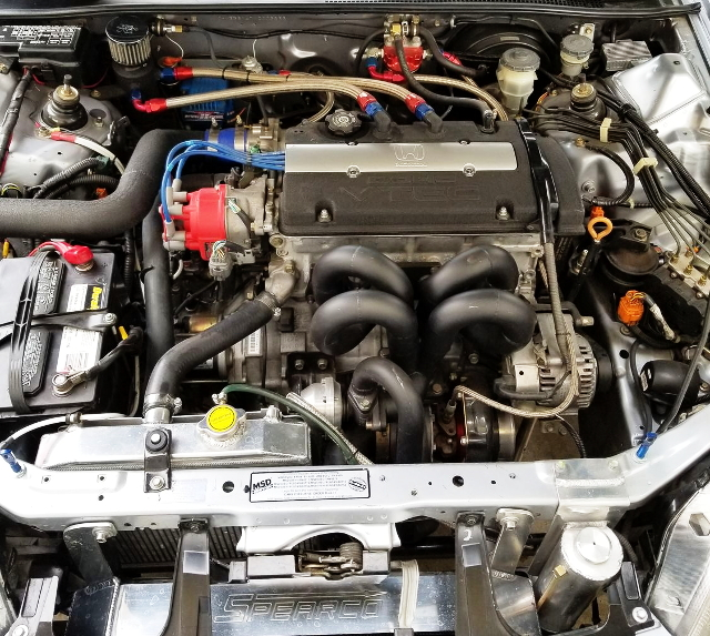 H22A VTEC TURBO ENGINE