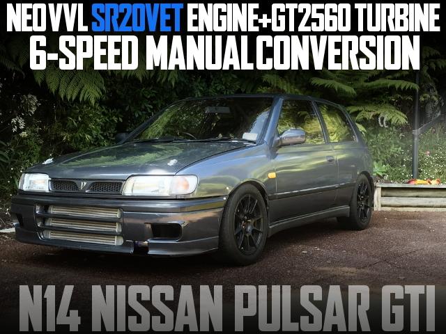 SR20VET 6MT N14 PULSAR GTI