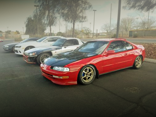 LEFT SIDE EXTERIOR 4th GEN PRELUDE RED