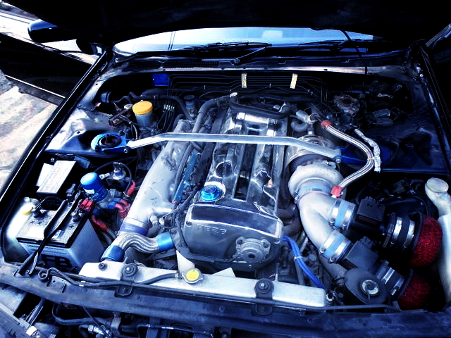 RB26DETT ENGINE WITH SINGLE TURBOCHARGED