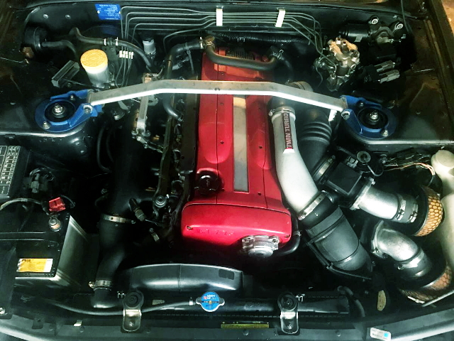 RB26DETT TWINTURBO ENGINE SWAP