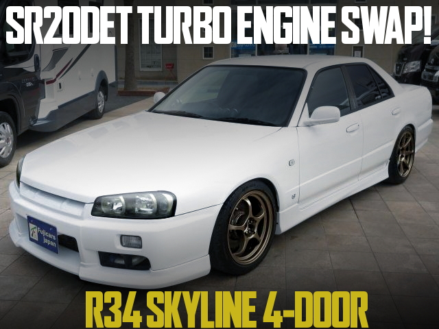 SR20 TURBO SWAP R34 SKYLINE 4-DOOR