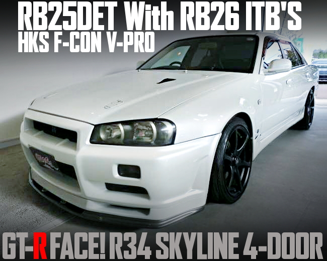 RB25 With RB26 ITBS R34 SKYLINE 4-DOOR