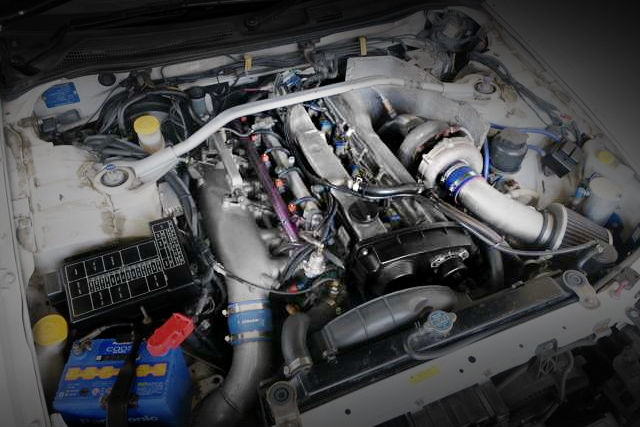 RB25 With RB26 ITB AND SINGLE TURBOCHARGER