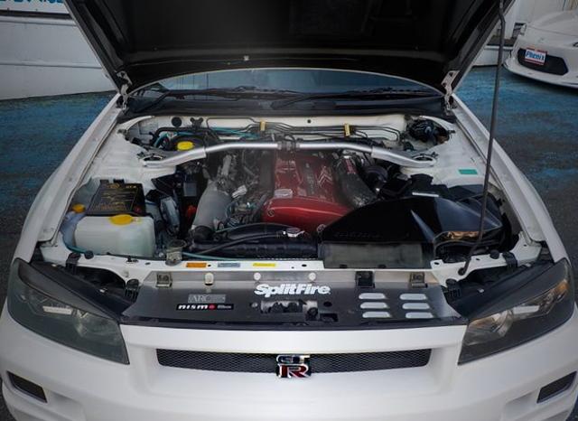 RB26DETT ENGINE OF R34 GT-R V-SPEC2