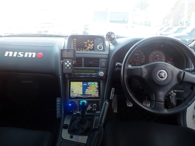 INTERIOR R34 GT-R V-SPEC2