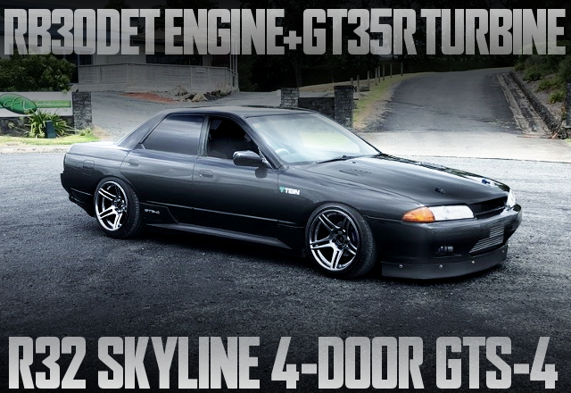 RB30DET GT35R R32 SKYLINE SEDAN GTS4