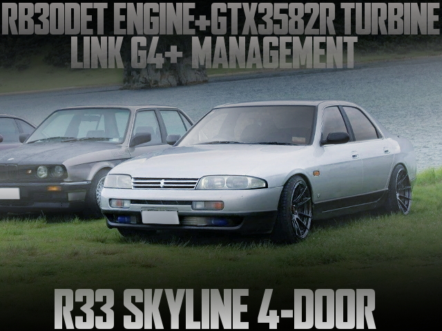 RB30DET GTX3582R TURBO R33 SKYLINE 4-DOOR