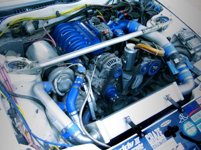 3-ROTOR 20B ROTARY TWIN TURBO ENGINE