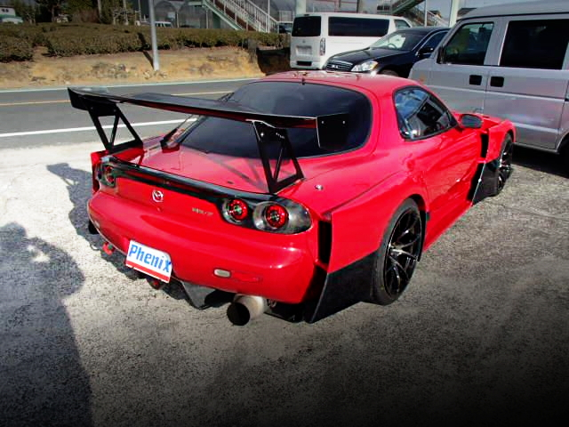 REAR EXTERIOR AMEMIYA D1 WIDEBODY FD3S RX-7