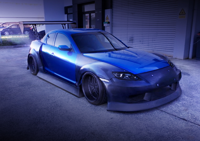 FRONT EXTERIOR SE3P RX-8 WIDEBODY