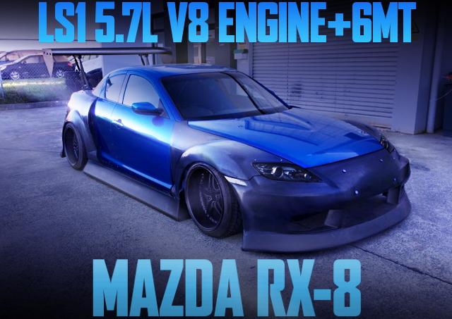 SE3P RX-8 LS1 V8 ENGINE