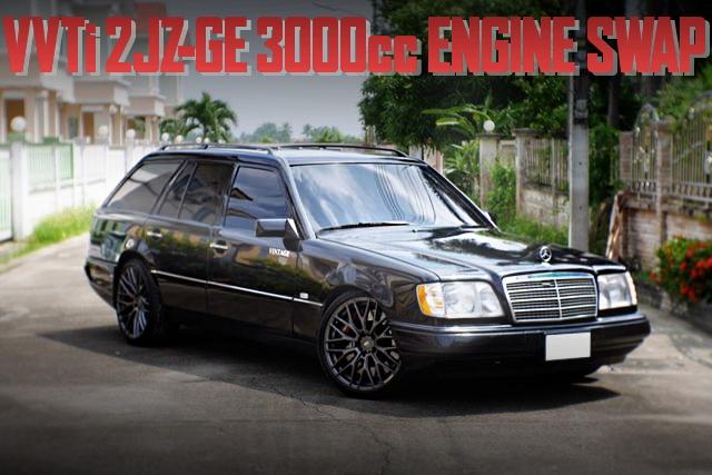 2JZ-GE ENGINE S124 BENZ E-CLASS WAGON