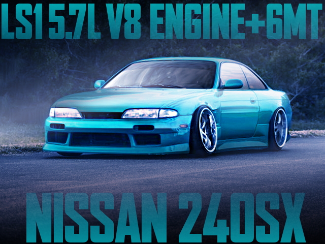 LS1 V8 6MT S14 240SX MINT