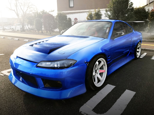 FRONT EXTERIOR S15 SILVIA BLUE