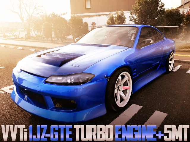 1JZ-GTE VVTi TURBO ENGINE S15 SILVIA