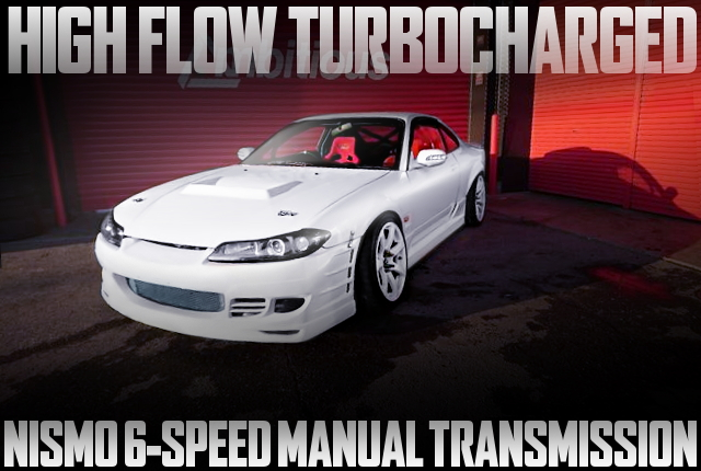 HIGH FLOW TURBO S15 SILVIA WIDE WHITE