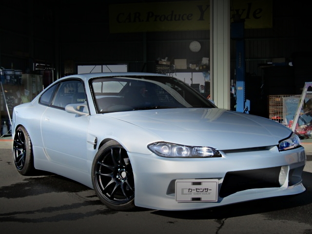 FRONT EXTERIOR ONE-OFF WIDEBODY S15 SILVIA