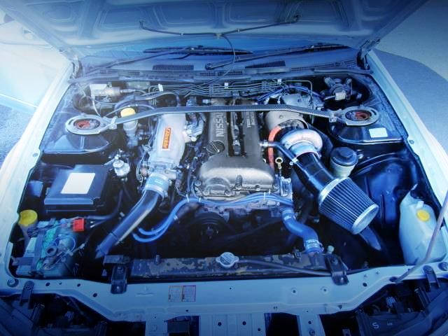 SR20DET ENGINE WITH TD06-25G TURBO