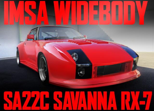 IMSA WIDEBODY SA22C RX-7