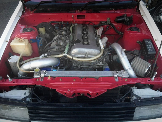 SR20DET 2L TURBO ENGINE