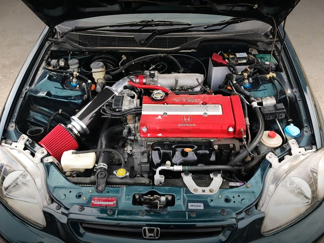 B16B VTEC ENGINE SWAP