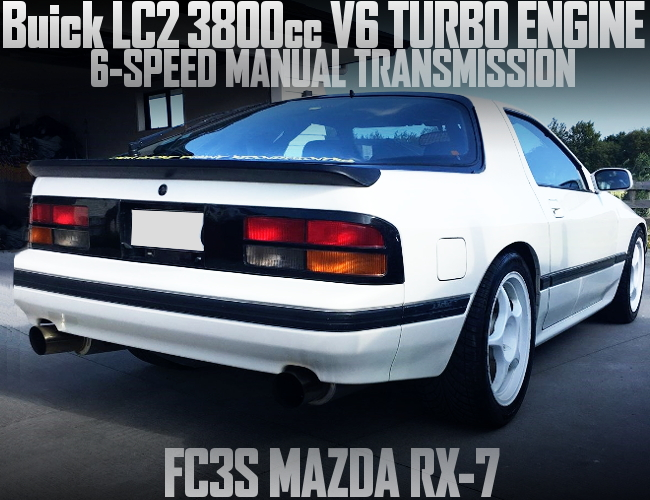 V6 3800cc TURBO ENGINE FC3S RX-7