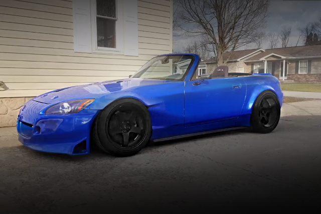 LEFT EXTERIOR HONDA S2000 WIDEBODY