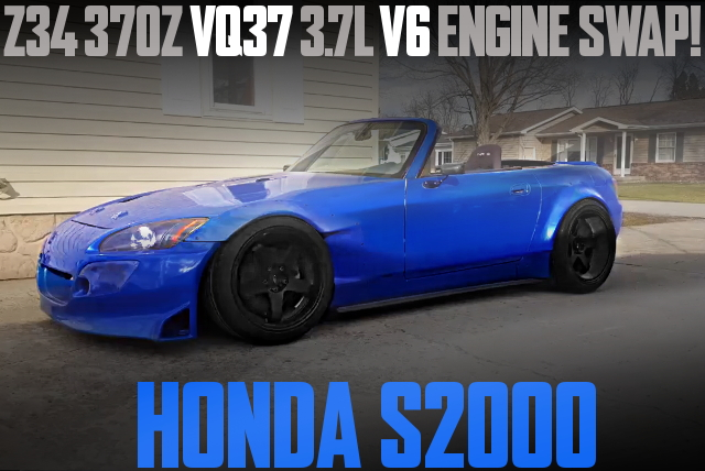 VQ37 V6 ENGINE SWAP HONDA S2000