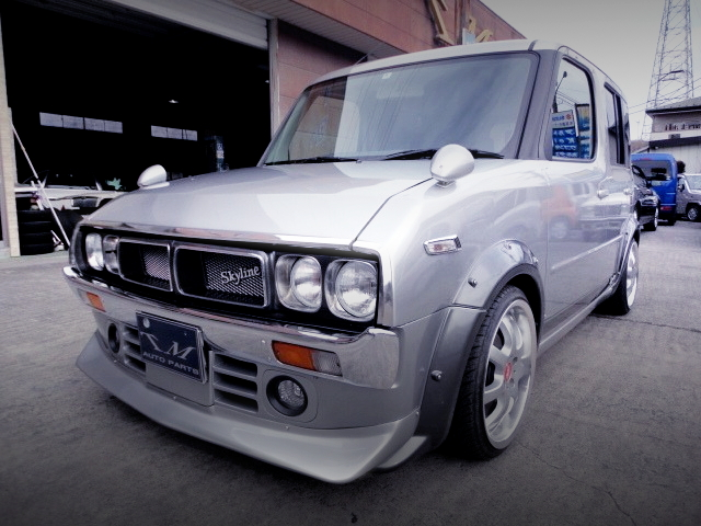 FRONT EXTERIOR YZ11 NISSAN CUBE