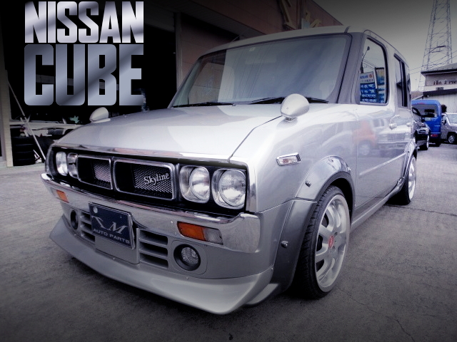 NISSAN CUBE FROM OLD SKYLINE STYLE