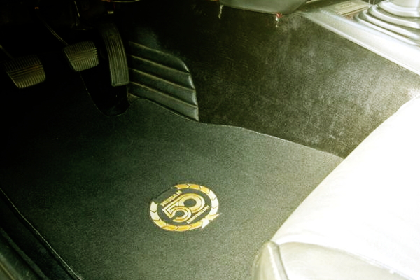 50th FLOOR MAT OF Z31 300ZX