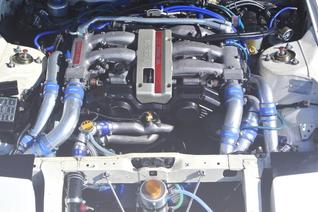 VG30DETT TWIN TURBO ENGINE