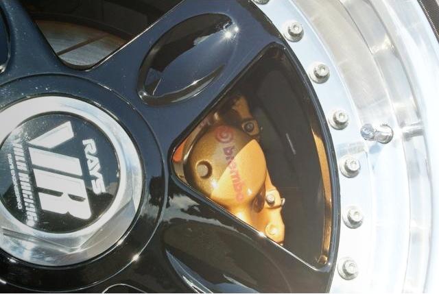 REAR BRAMBO 2POT CALIPER