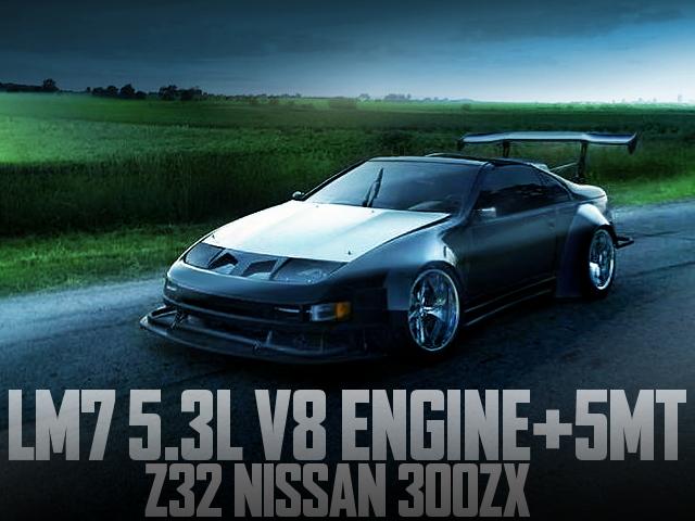 LM7 V8 ENGINE Z32 300ZX