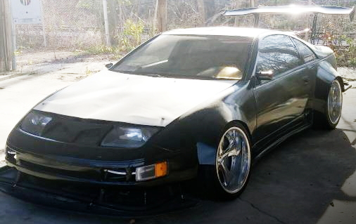 FRONT Z32 300ZX WORKS WIDEBODY