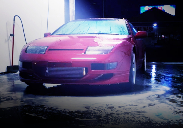 FRONT FACE Z32 300ZX RED