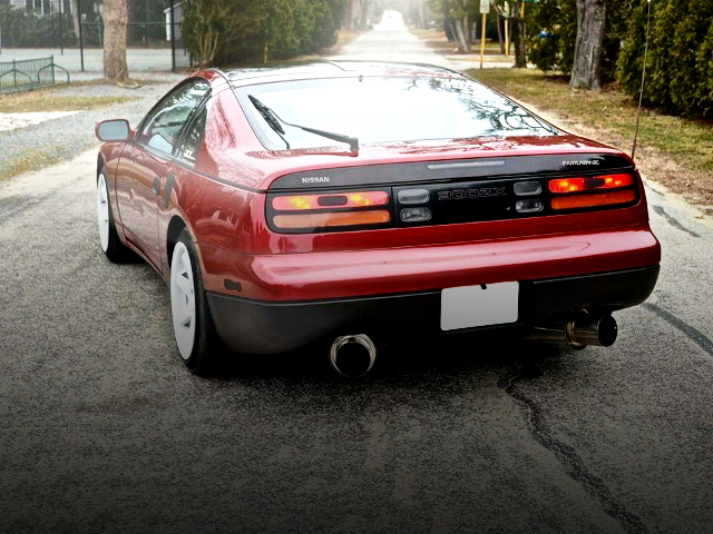 REAR EXTERIOR Z32 NISSAN 300ZX RED